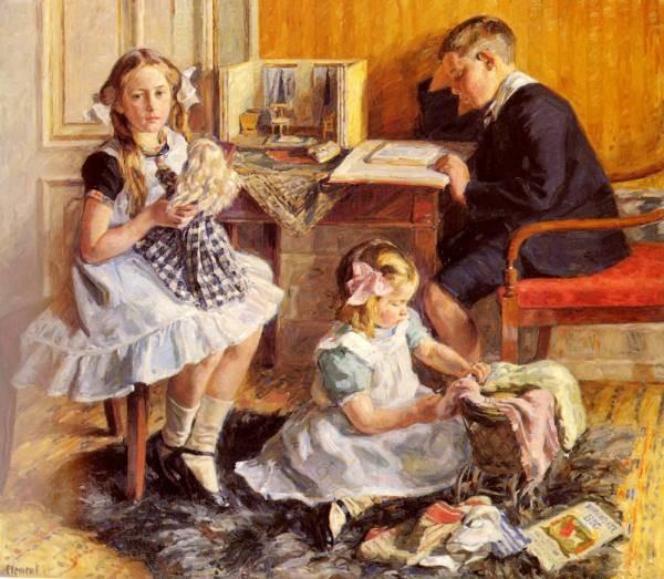 Childrens Pastimes